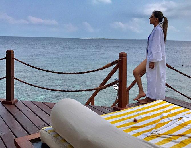 Jamai Raja nia sharma maldives