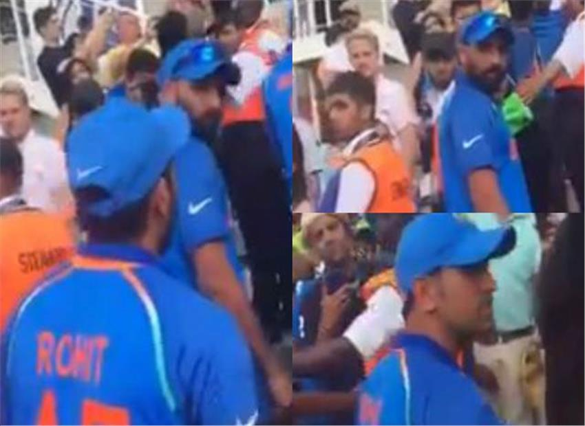 WATCH: Pak fan who threw 'Baap Kaun Hai' taunt at Shami beaten up by Indian supporters?
