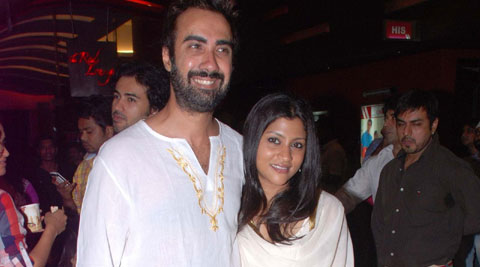 Ranveer Shorey And Konkona Sen Sharma