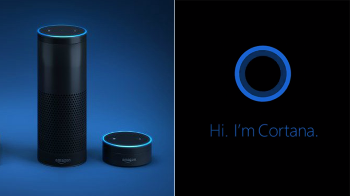 Microsoft Cortana and Amazon Alexa Come Together the First-Time Ever