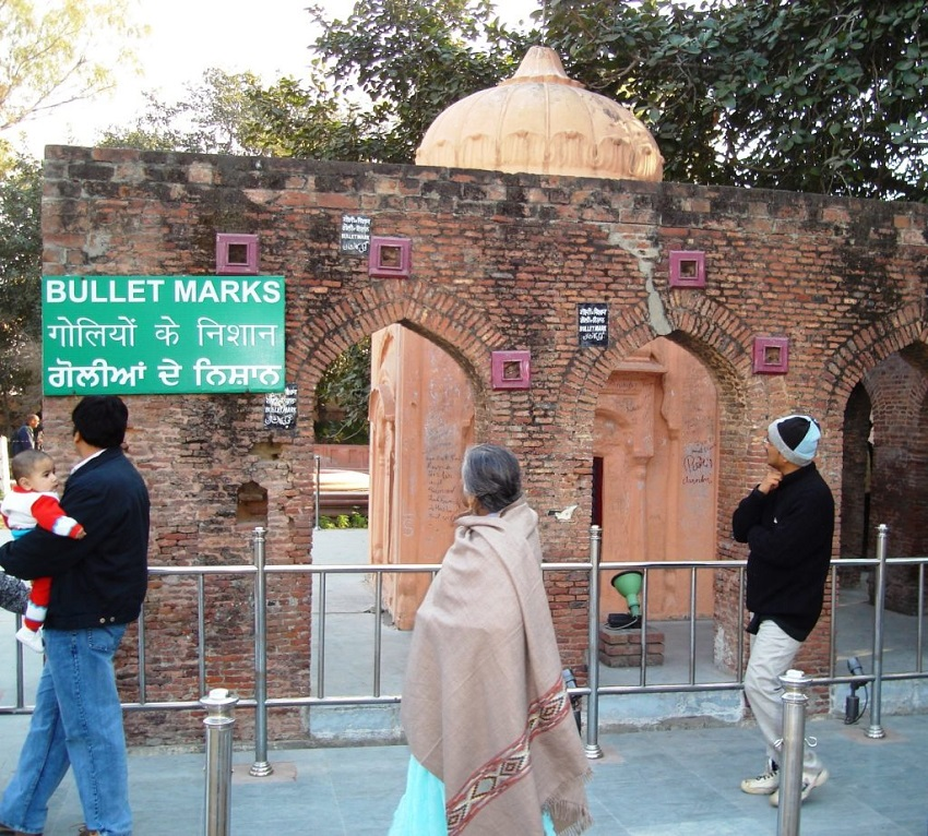Jallianwala Bagh Bullet Marks