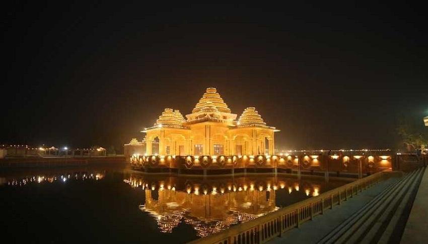 Ram Tirath Temple Night View