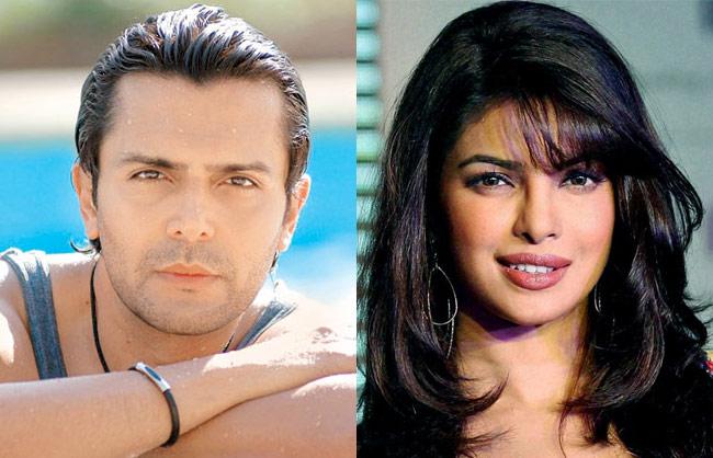 Priyanka Chopra and Model Aseem Merchant